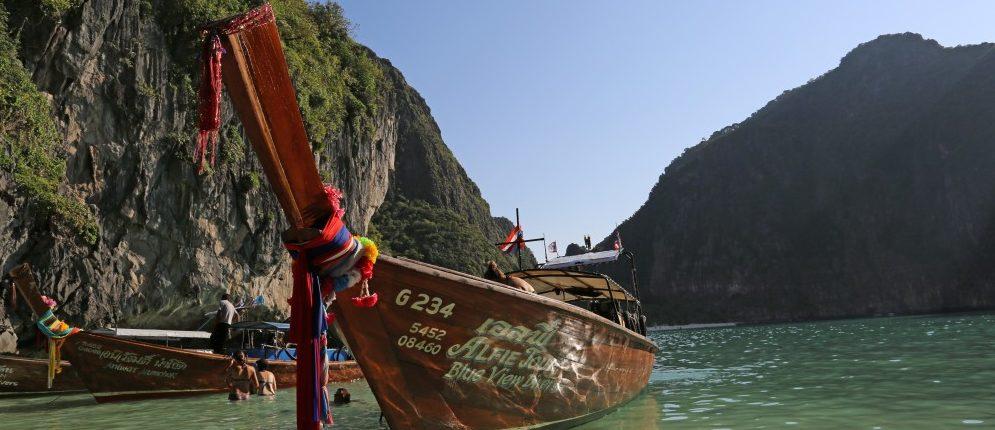 Longtail Boat Koh Phi Phi Diving