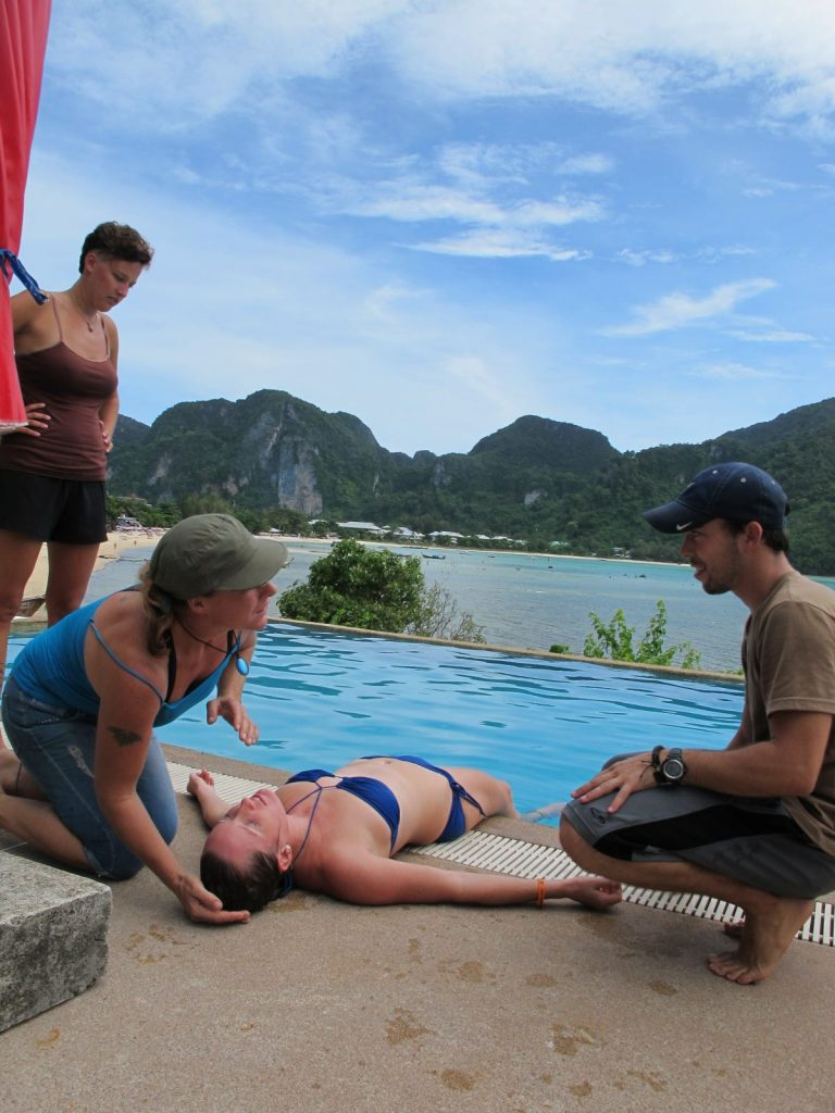 Emergency First Response Course Pool Safety Phi Phi