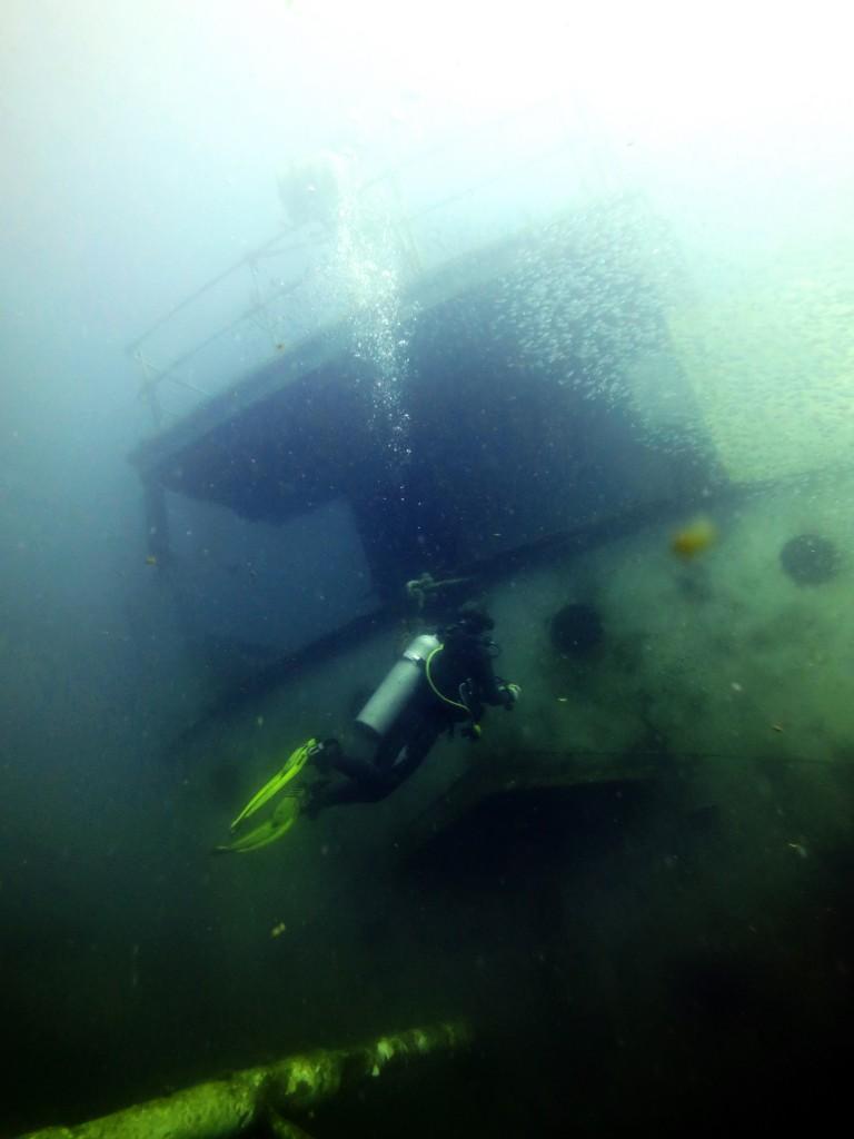 Wreck Diving Koh Phi Phi Kled Gaoew