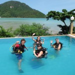 Pool Training Phi Phi Island