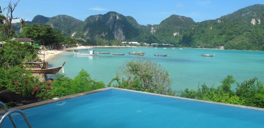 Phi Phi View Pool Map