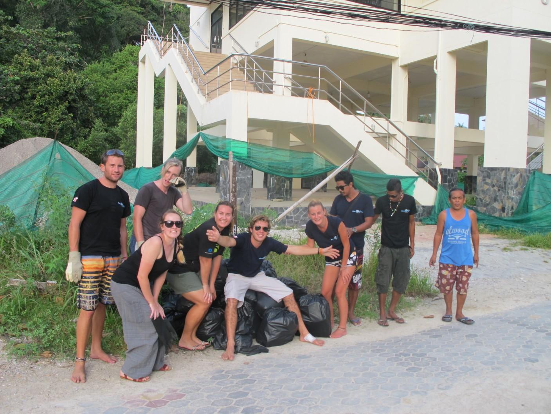 Phi Phi Clean Up