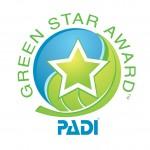 PADI Green Star Logo