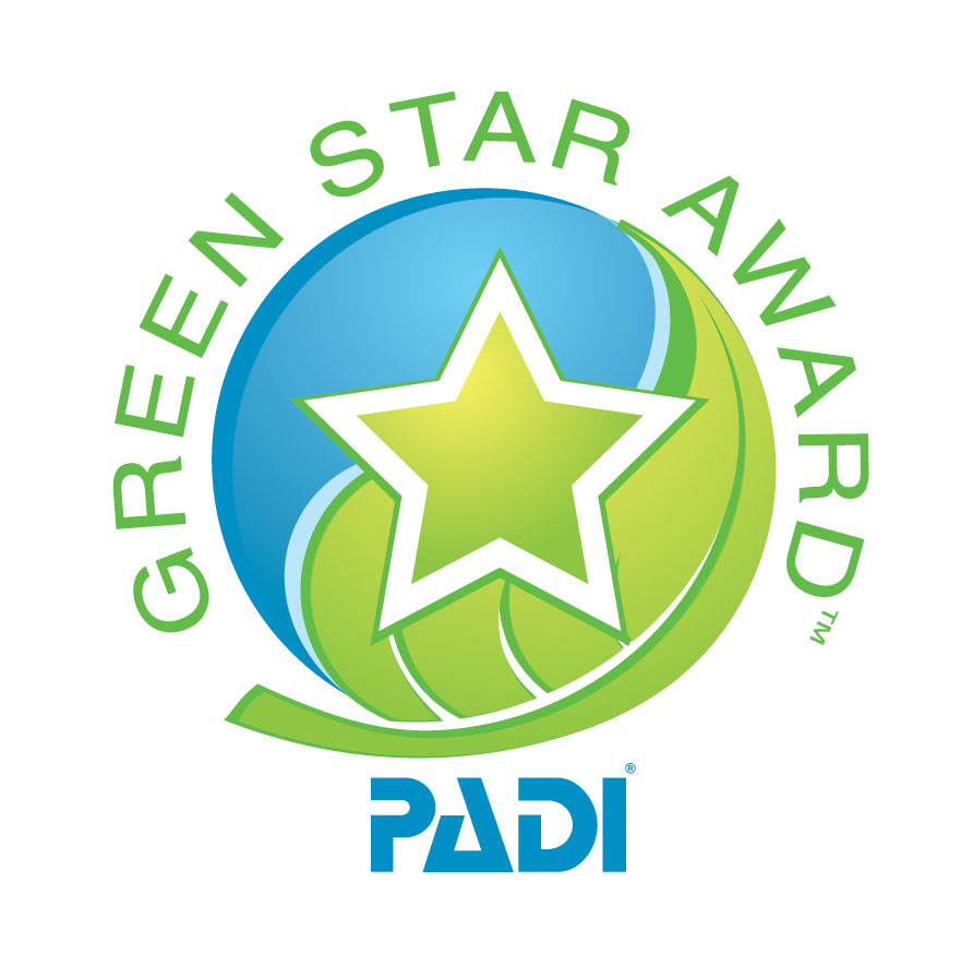 PADI Green Star Logo