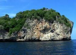 Bida Nok Dive site koh phi phi thailand diving