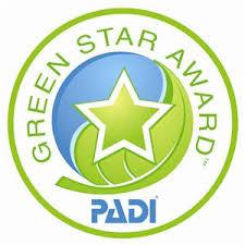 PADI Green Star Award dive centre