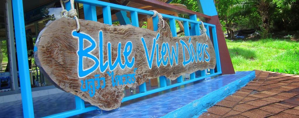 PADI 5* Dive Resort Shop Sign Phi Phi