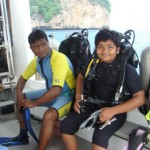 Indian MasterSCUBA Diver PADI and Father