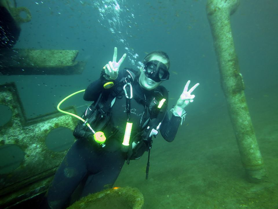 Kled Gaeow Wreck Diving Phi Phi – April '15