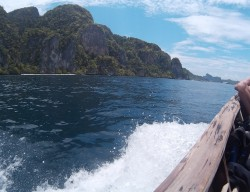 Phi Phi Ley on Longtail Bida Nai