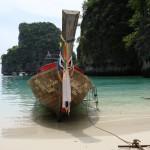 Dive Longtail Boat Maya Bay Koh Phi Phi Thailand