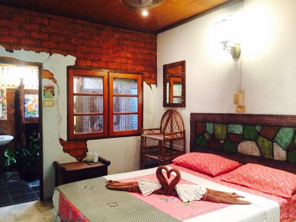 Double Room Bed Garden Home