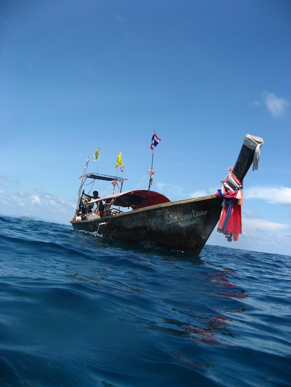 Longtail Boat Kathleen Koh Phi Phi Thailand