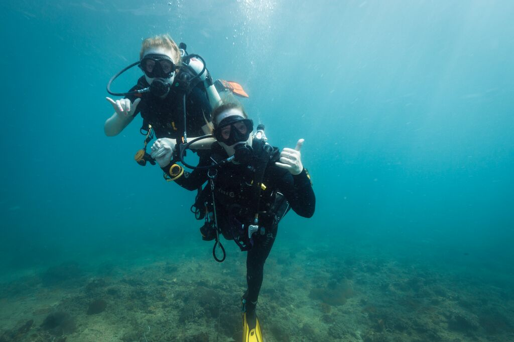 blue view divers padi divemaster become a professional padi diver rh blueviewdivers com