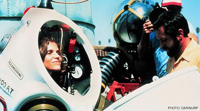 Sylvia Earle diving womens day