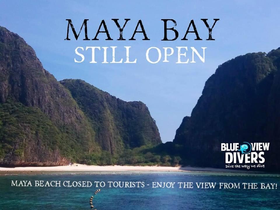 Maya Bay Closing
