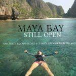 Maya Bay Open - Beach closed