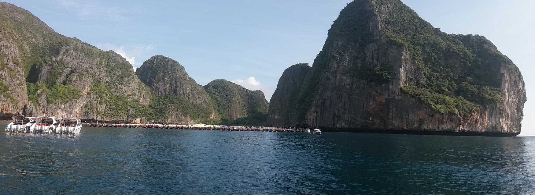 Maya Bay opens and local longtails