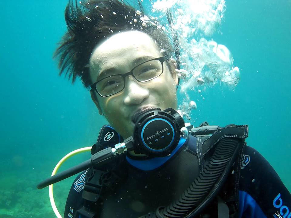 our team tae divemaster instructor Thailand