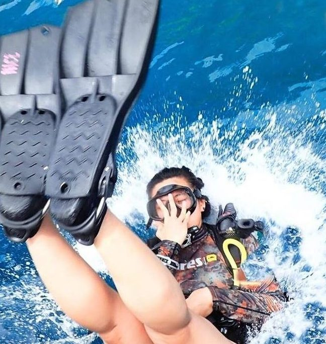 backroll diving courses phi phi