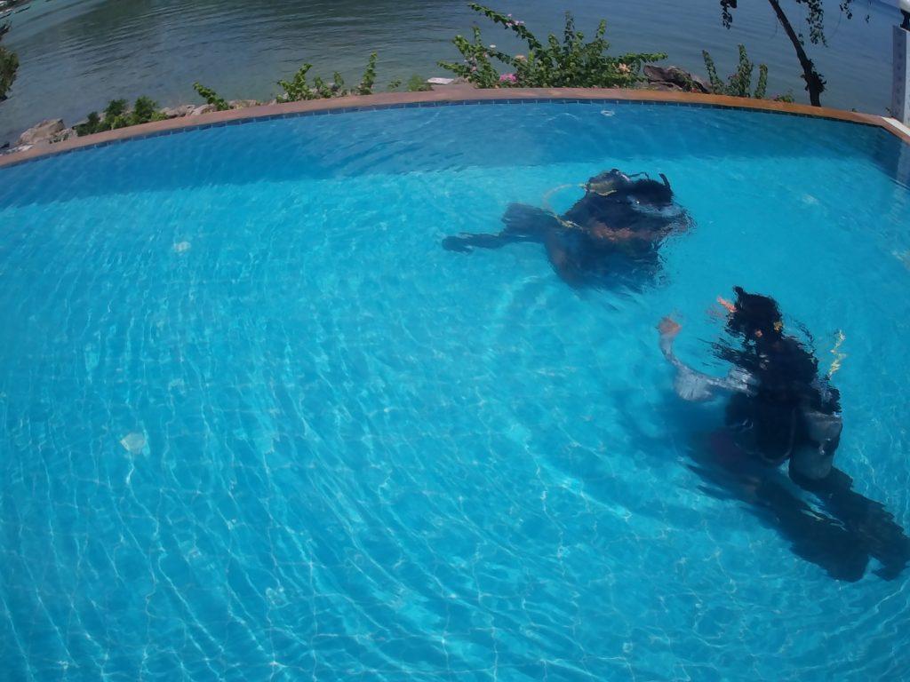 rescue course phi phi island