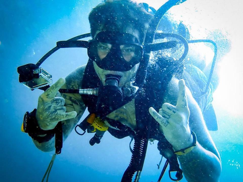 PADI specialty Discover scuba diving, koh phi phi