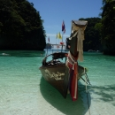 longtail boat, phi phi