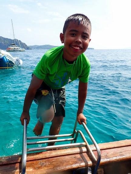 kids diving zone phi phi island