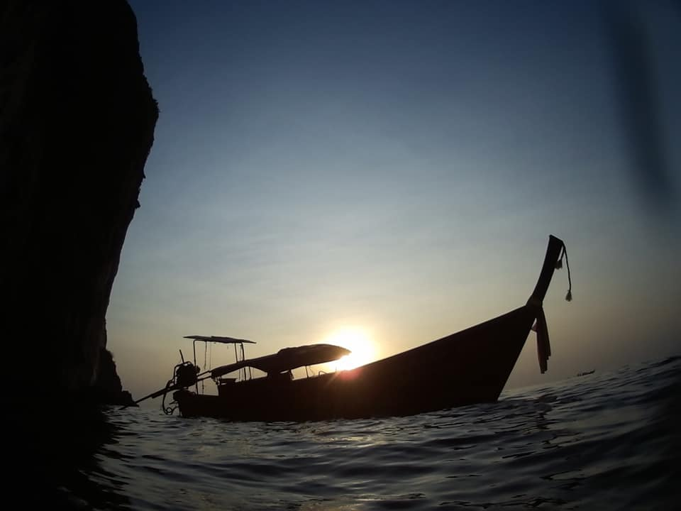 longtail sunset diving PADI specialty courses thailand