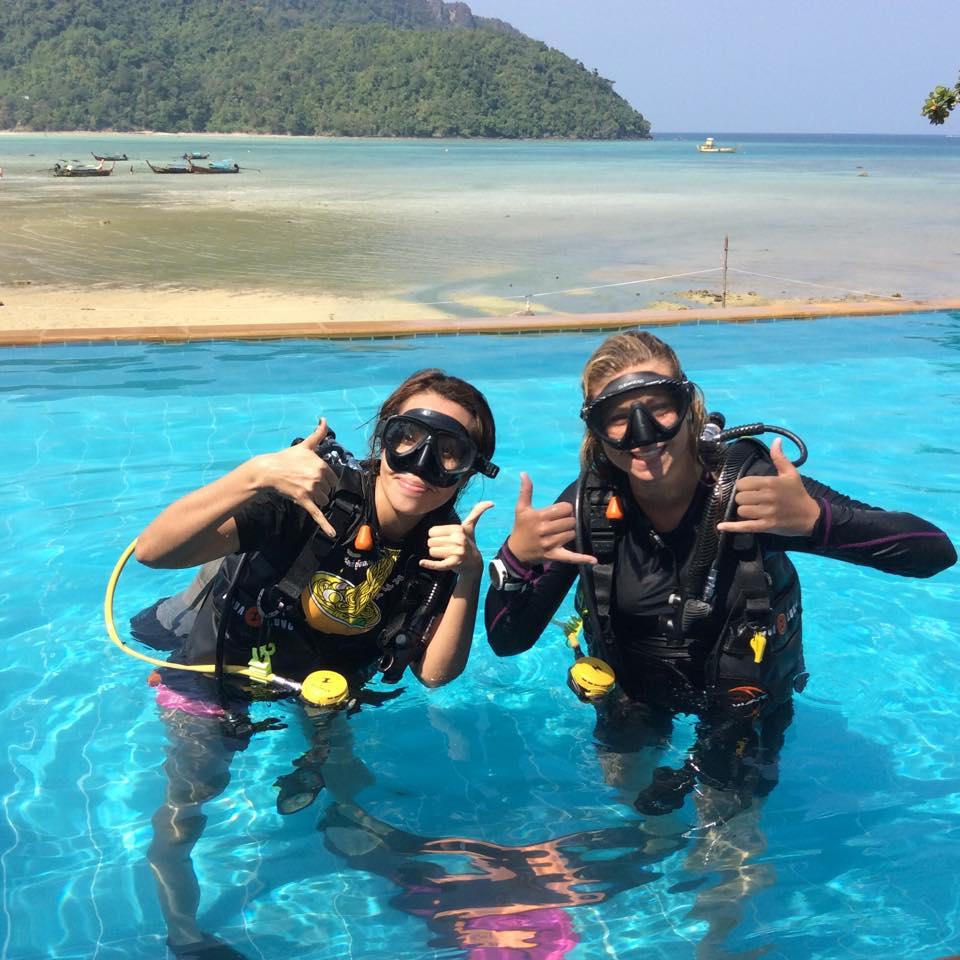 Discover scuba diving, dive courses phi phi