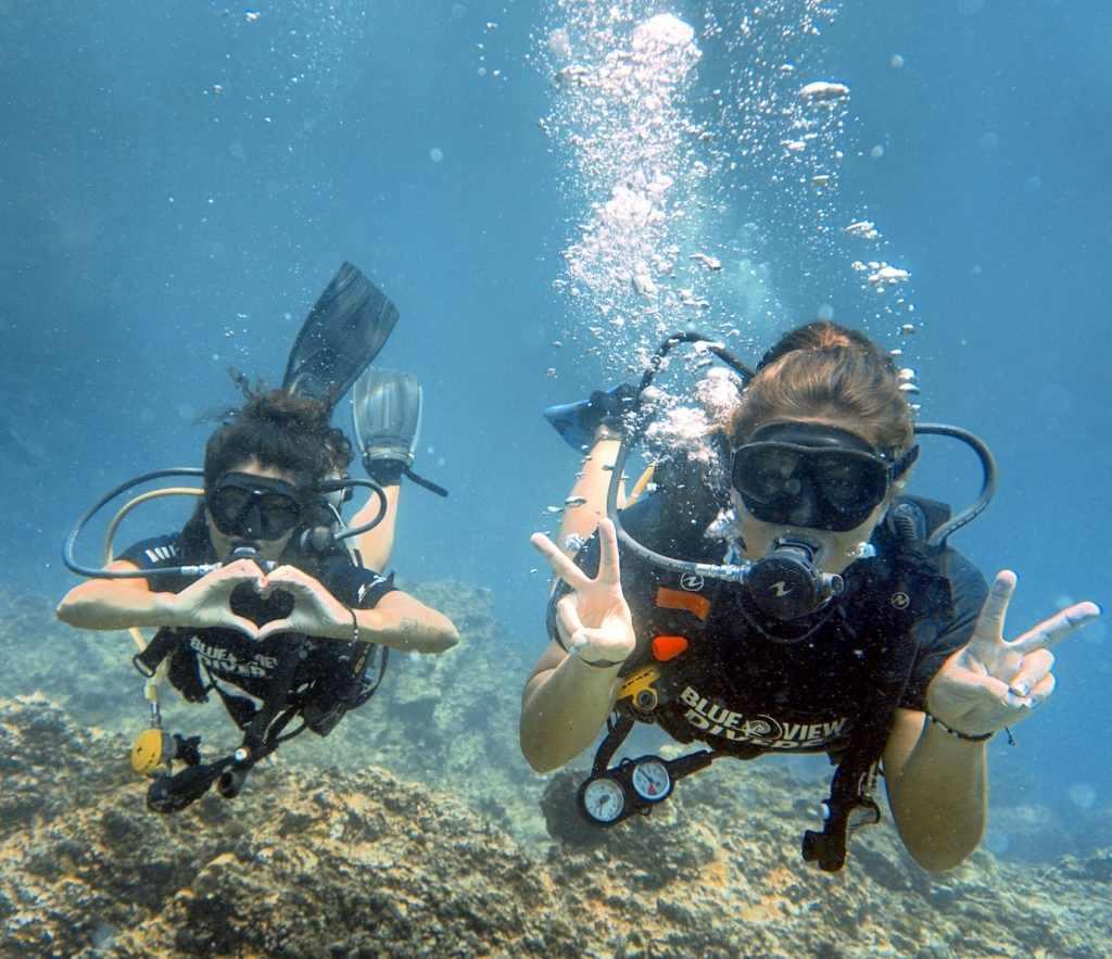 diving course dive trips phi phi island thailand