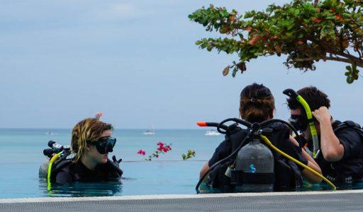dive courses koh phi phi