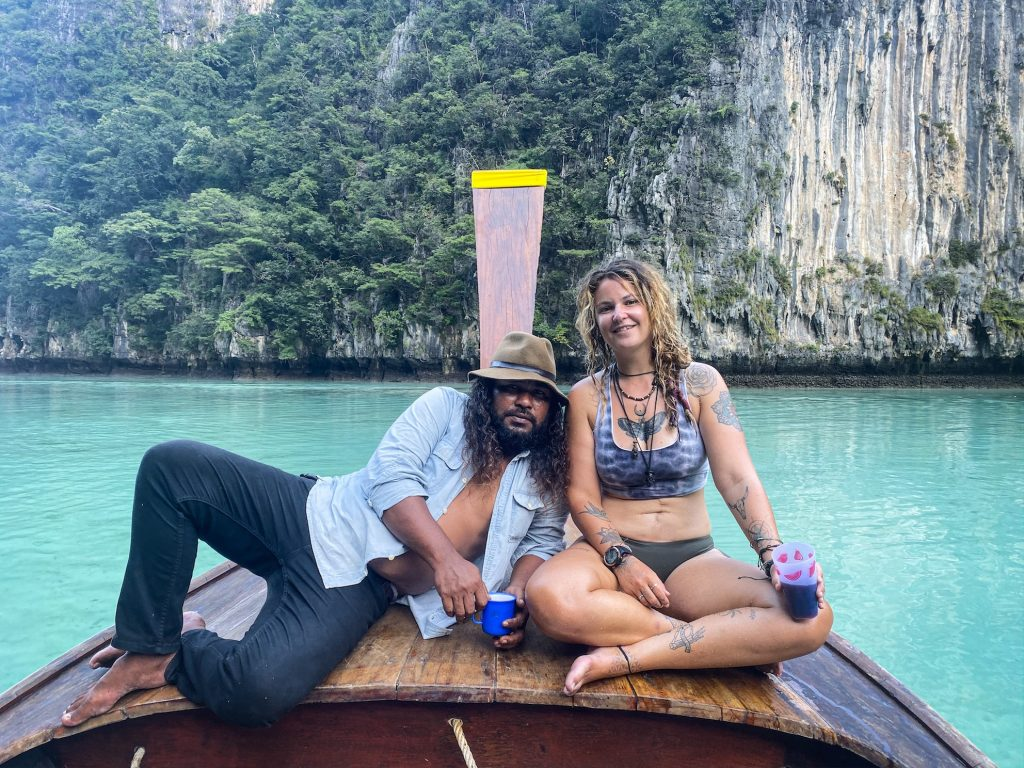 maya bay phi phi island longtail private boat rentals