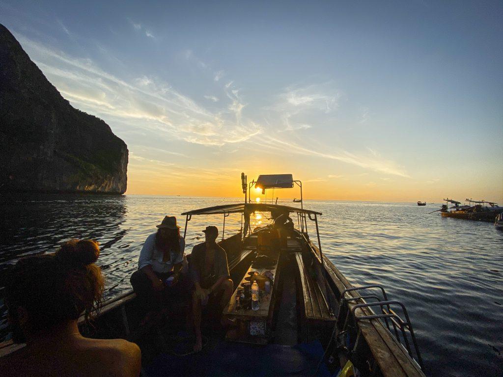 snorkel phi phi sunset snorkeling eco tours dive trips