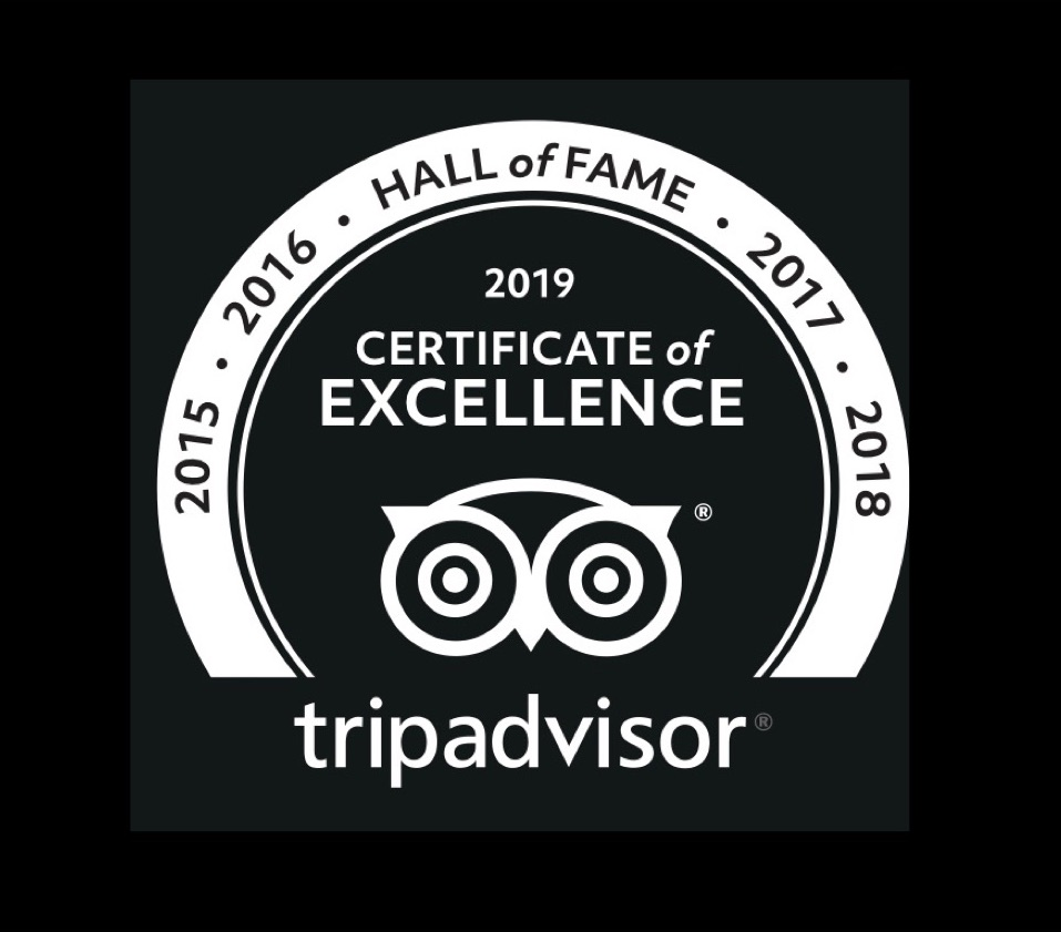 Trip advisor certification of excellence phi phi island