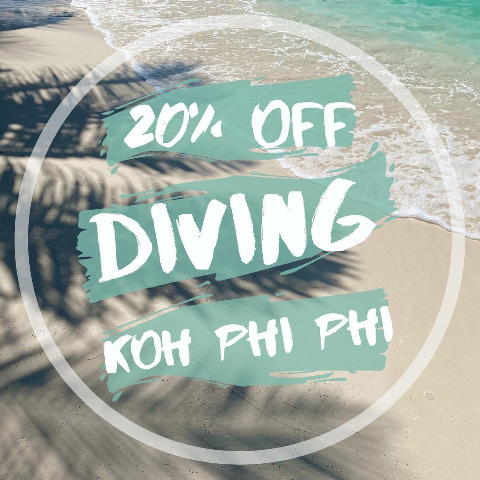 phi phi diving promotion