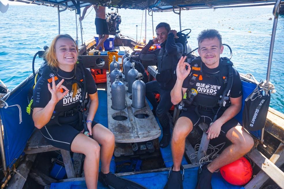 discover scuba diving koh phi phi