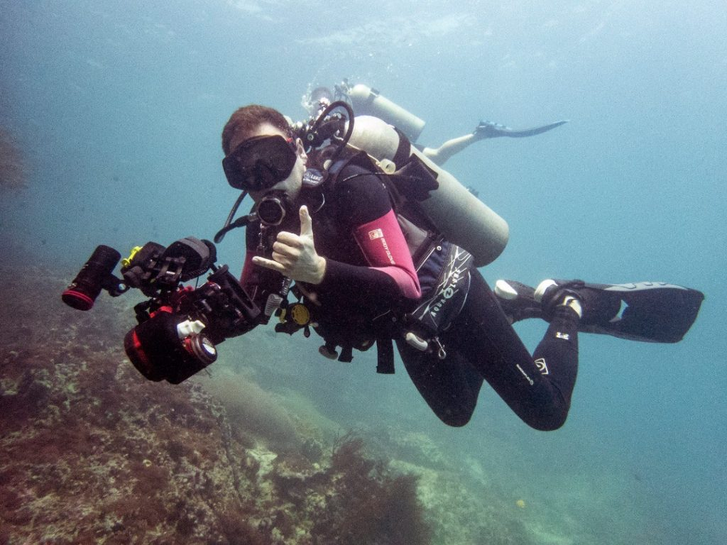 advanced open water underwater photography
