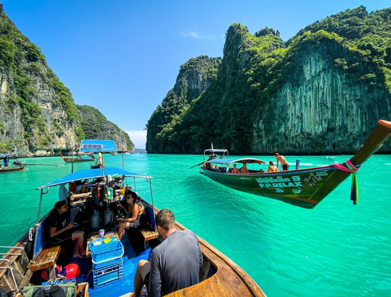 dive packages longtail boats phi phi island