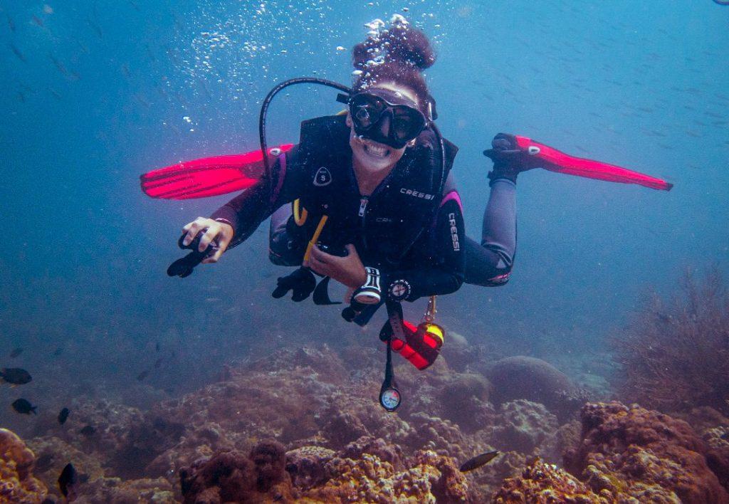 divemaster phi phi PADI open water